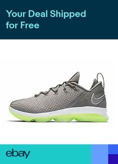 265dcb58ed0 New Nike Lebron 14 XIV Low Dunkman Mens Basketball Shoes Grey Silver 878636  005