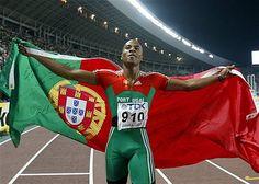 Long-jumper Nelson Evora,