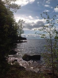 Maisema Pyhäjärvelle. Eura, Finland. Photo by @virpula1 Järvi, Suomi, kesä