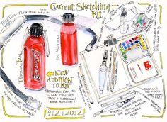 Artists' Journal Workshop: New Tool For My Sketch Bag