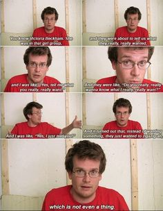 Not only is this john green, but it is John green talking about spice girls.