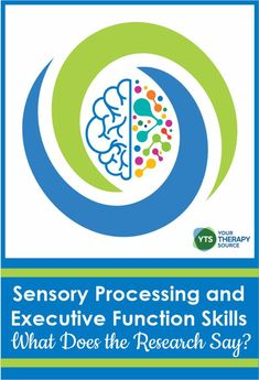 Sensory Processing and Executive Function Skills - Your Therapy Source Certified Occupational Therapy Assistant, Pediatric Occupational Therapy, Self Regulation Strategies, Emotional Regulation, Sensory Diet, Sensory Activities, Parent Forms, Self Monitoring, Executive Functioning