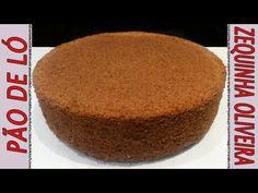 Pão de Ló de Chocolate para Aniversário Passo a Passo