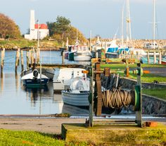 Slipway with lime kiln in the background. From Marstal Marina on the small island Ærø in Denmark.