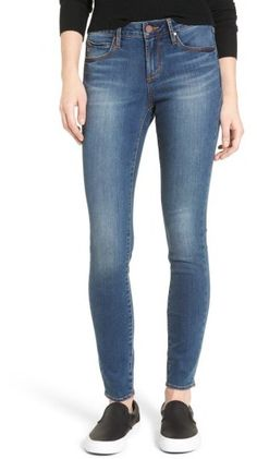 Women's Articles Of Society Sarah Skinny Jeans - Nordstrom $59