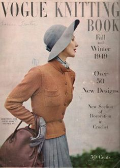 Vogue Knitting, Knitting Books, Boudoir Photographer, Vintage Vogue, News Design, My Wardrobe, Cold Weather, Winter Outfits, What To Wear