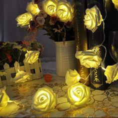 Cheap light british, Buy Quality light dock directly from China light reflector Suppliers: 20LEDS Flash Rose Flower Fairy String Lights Wedding Party Christmas Wreath Rope Lights Garland Battery Operated Decora