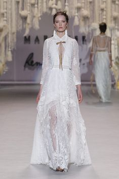The FashionBrides is the largest online directory dedicated to bridal designers and wedding gowns. Find the gown you always dreamed for a fairy tale wedding. Bridal Fashion Week, Bridal Collection, Catwalk, Marie, Wedding Gowns, Fashion Show, Style, Atelier, Weddings