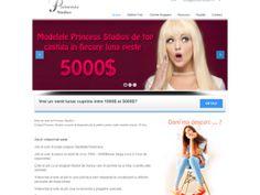Princess Studios site de prezentare a unui Studio de Videochat din Bacau www.princess-studios.ro