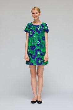 Marimekko - that style wouldn't suit me, but I LOVE the print and colours!