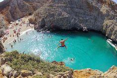 Seitan Limania beach,Chania,Crete.