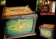 Gremlins: Gizmo Oriental Box Prop replica (Scale 1:1)