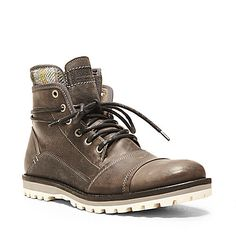GIDEON BLACK GREY men's boot casual gore/zip - Steve Madden