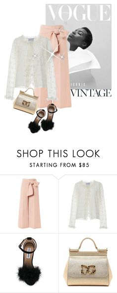 """""""Street style"""" by janemichaud-ipod ❤ liked on Polyvore featuring Topshop, LUISA BECCARIA, Steve Madden and Dolce&Gabbana"""