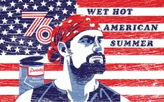 Wet Hot American Summer by Michael Weinstein Chris Meloni, Learning Logo, Alternative Movie Posters, Movie Poster Art, Mini Me, White Man, Daddy, Logo Design, American