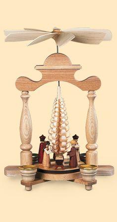 German Christmas pyramids-My Grandma had something very similar to ...