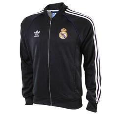 adidas originals Real Madrid SST Jack Black - Voetbalshop.nl