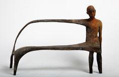Jesús Curiá, Brench II, 184)09, 2016, Bronze, 44 cm x 31 cm x 15 cm