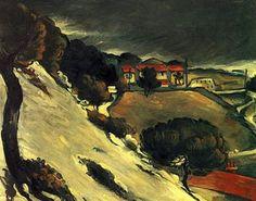 Cezanne, L'Estaque, Melting Snow - Wikipedia, the free encyclopedia
