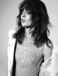 Image result for bangs with balayage curly