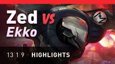 Ekko gets rekko'd https://youtu.be/NRwVGZr_rdo #games #LeagueOfLegends #esports #lol #riot #Worlds #gaming