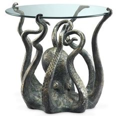 Tropical Side Tables And End Tables by Zeckos