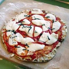 "Pizza On The Grill I | ""Fantastic! After trying this last week, my family has declared that every Friday is pizza on the grill night (we'll be changing the toppings weekly)!!!"""