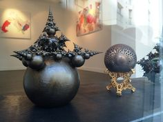 The Beauty of Math! These 3D Printed Fractals Will Blow Your Mind http://3dprint.com/50133/3d-printed-fractals-2/