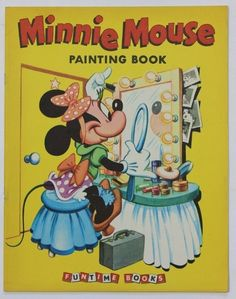 Walt Disney's MINNIE MOUSE Painting Book. Pictures by The Walt Disney Studio adapted by Bob Grant. - David Miles Books