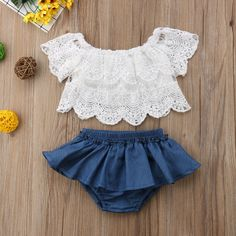 Check out my new Pretty Solid Lace Top and Ruffled Bloomers Set, snagged at a crazy discounted price with the PatPat app.Toddler Kid Baby Girl Clothes Lace Ruffle T Shirt Tops Shorts Outfits SetThe Florence Outfit is a springtime favorite, featuring Baby Clothes Patterns, Cute Baby Clothes, Summer Clothes, Cute Baby Dresses, Cute Baby Outfits, Baby Girl Patterns, Pretty Clothes, Winter Clothes, Winter Dresses