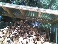 its good to keep you wood dry for burning