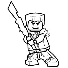 Ninjago My Free Coloring Pages Pinterest