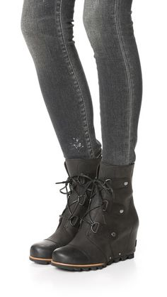516d26e3abe Sorel Joan of Arctic Wedge Booties Joan Of Arctic Wedge