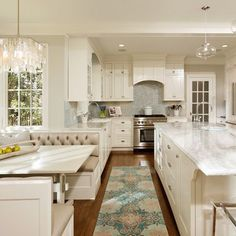 Built In Breakfast Nook Design Ideas, Pictures, Remodel, and Decor - page