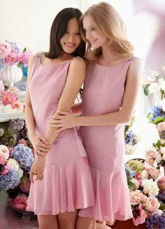 Bellos vestidos | Damas de honor con elegancia