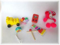Cómo hacer juguetes para muñecas / How to make doll toys (+playlist)