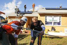 Verengo Solar and GRID Alternatives installation