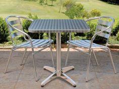 Mesa Quadrada em Alumínio - Mor com as melhores condições você encontra no Magazine Gatapreta. Confira!