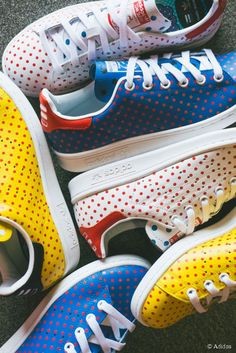 Les Stan Smith customisées par Pharrell Williams pour Adidas http://bit.ly/1xsvM9j