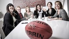 So damned proud of these women for starting  @theoutersanctumpodcast about their shared passion for AFL and last week in episode 14 calling out Eddie McGuire's 'joke' about paying $50k to charity to see Caroline Wilson held under water - WHICH NO OTHER MEDIA CHANNEL CALLED OUT. It took these six women running a passion project to call into question a powerful man's idea of humour to drown a women as not acceptable. . Never doubt that your voice your story your power matters. Listen to their…