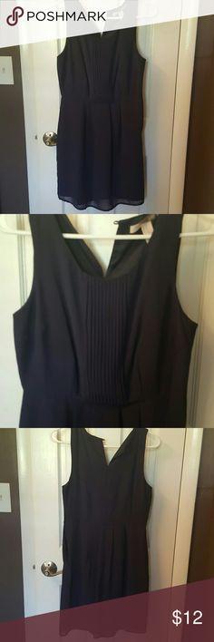 Navy dress Sleeveless, above the knee Forever 21 Dresses Midi