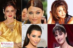 Find your signature look like these timeless beauties! From #Aishwarya's #smokyeyes to #Jennifer Aniston's #bob in #FRIENDS all the leading ladies have a signature look which makes sets them apart! http://beautybook.nykaa.com/signature-beauty-look/