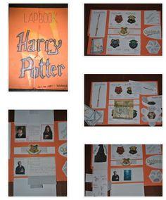 Lapbook Harry Potter