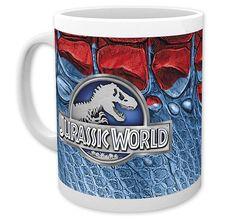 Jurassic World Tasse Logo. Hier bei www.closeup.de
