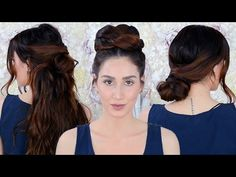 7 Easy Running Late Hairstyles Every Girl Needs to Know - YouTube