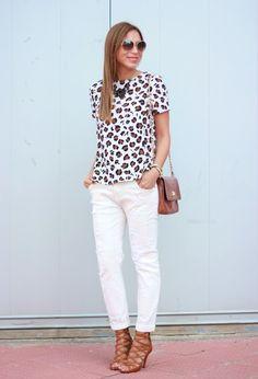 Winning Ways to Wear White Denim