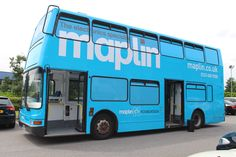 Maplin's Battle Bus - Used for STEM education events and other outreaching work, kitted out with Arduinos, Raspberry Pis, 3D Printer and more tech than you'd normally find on a bus - Reg W485 WGH