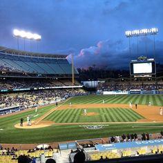 Beautiful Dodger Stadium