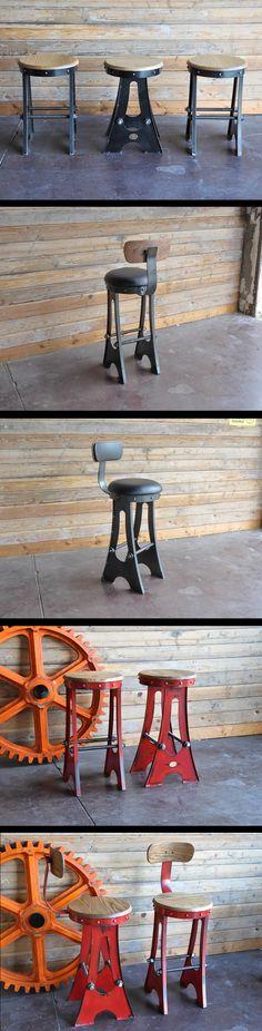 BANQUITO DE METAL A Frame Stools by Vintage Industrial in Phoenix, AZ