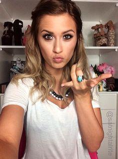 Karissa Pukas  Check out her YouTube tutorials! Satnightalrite